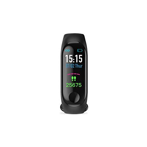 Geheime nacht Smart Color Waterdichte Sport Horloge Hartslag Bloeddruk Monitoring USB Polsband Sport Stappenteller