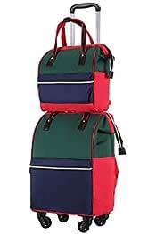 GYYlucky New Sports Gym Bag Yoga Bag Folding Travel Bag Portable Large Capacity Travel Bag Color : A