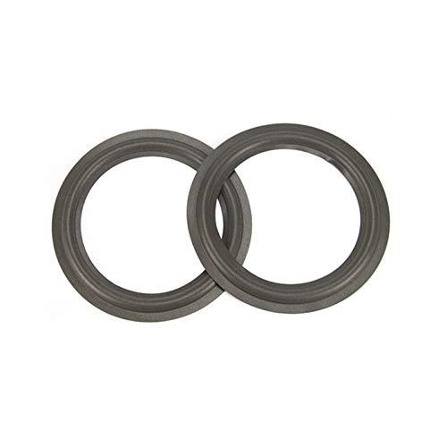 WNJ-TOOL, 2pcs Lautsprecherschaumreparatur 2,5 3.5 4 6,5 Zoll Federkopf-Faltungsring Full Range Woofer-Lautsprecher Ersatz (Größe : 3inch)