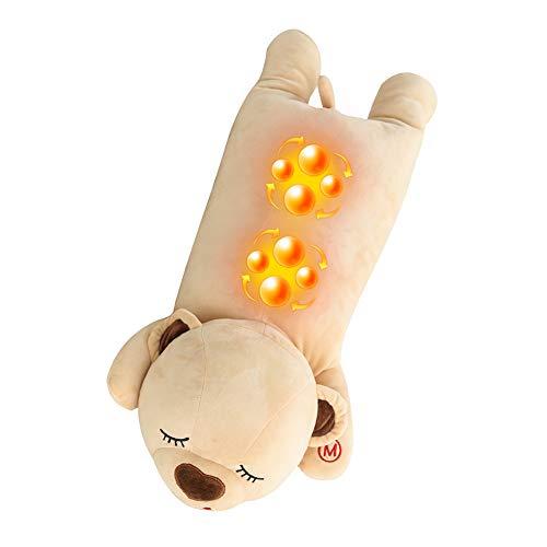 WPY Massagekissen Shiatsu Massagegerät mit 8D-rotierenden Massageköpfen und Infrarot Wärmefunktion Masseur Massage wiederaufladbare Massagegerät Rückenschmerzen lindern