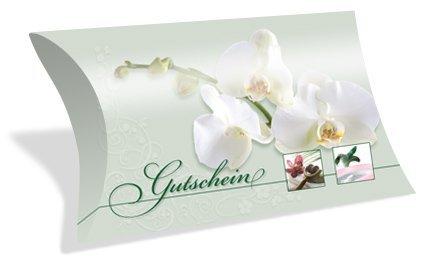 Gutscheinkarten Etui (10 Stück) - Gutschein für Kosmetik, Beauty, Wellness - blanko Geschenkbox zum Eintragen der Werte