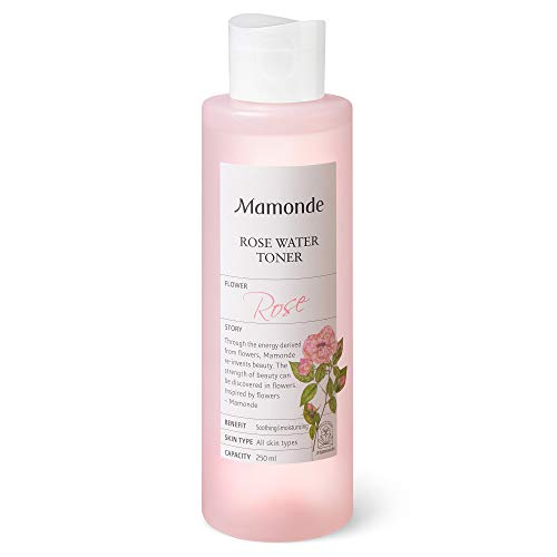 Mamonde Rose Water Toner, 8.45 Ounce