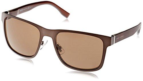 Hugo Boss Boss 0748/F/S SP K9C Gafas de sol, Marrón (Brown-Grey Text/Bronze Pz), 58 Unisex-Adulto