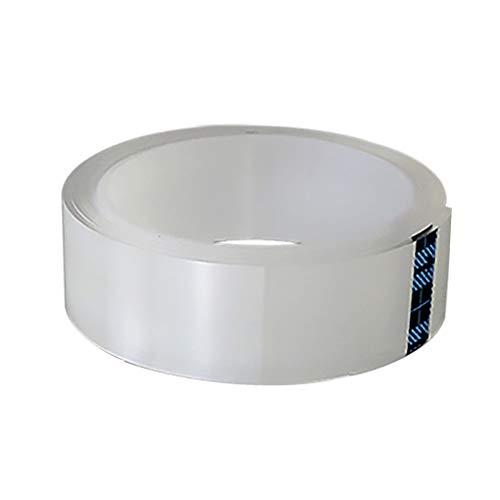 Waschbare Transparent Nano-Tape Multiwiederverwendbare Removable Nano-Tape Traceless deutlich zweiseitiges Klebeband