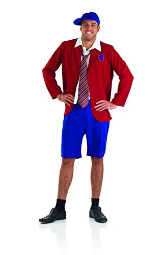 Fun Shack Déguisement Écolier Rouge pour Homme - Taille XL