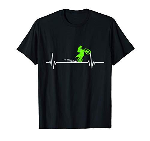 Camiseta de Motocross Heartbeat Camiseta