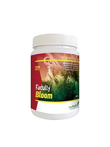 GreenFaculty - Bloom - Fertilizante Abono Floración para Plantas. Cultivo Interior, Exterior, Hidroponia, Tierra y Coco. NPK. Polvo Soluble Concentrado 500 g
