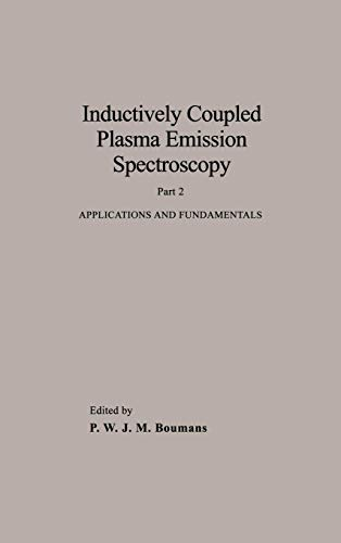 Inductively Coupled Plasma Emission Spectroscopy: Applications and Fundamentals