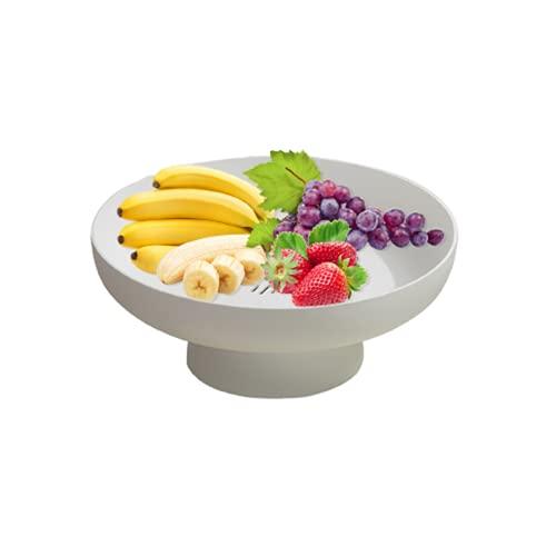 Tining Salón de estilo europeo moderno y creativo. Mesa de centro para el hogar. Bandeja de frutas fácil inferior extraíble. Cesta de almacenamiento de frutas y verduras.