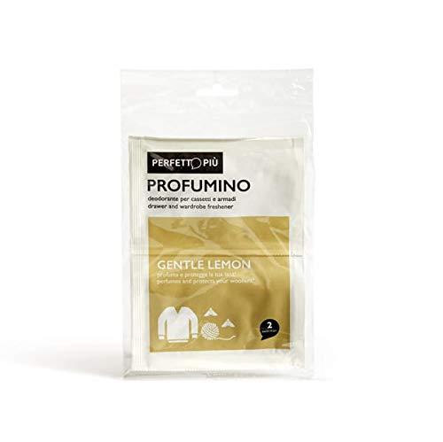 Perfetto Deodorant-parfum, 2 stuks, wol-zacht citroengeel, eenheidsmaat