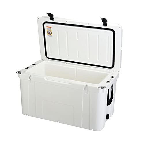 Refrigerador de hielo Rotomolding de 75 cuartos de galón, congelador grande puede almacenar hielo hasta 5 días, esencial para fiestas de camping al aire libre