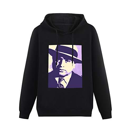 ZHONGMIN Unisex Al Capone Pop Art Halloween Cartoon Hooded Pullover Outwear horro for Teens