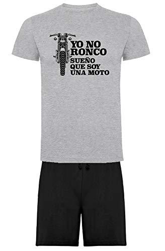 Pijama Ronco Moto de Camiseta y Pantalon Corto (XL)