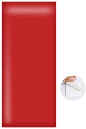 Tapete Weiche 3D-Wandpaneele Wandverkleidung Dekor Fliesen Wandaufkleber Zuhause Kinderzimmer Bett Soft Case Sturzpad Hintergrunddekoration Selbstklebend, 8 Farben ( Color : #7 , Size : 9pcs )