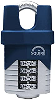 Henry Squire - Vulcan Closed Boron Shackle Combination Padlock 40mm