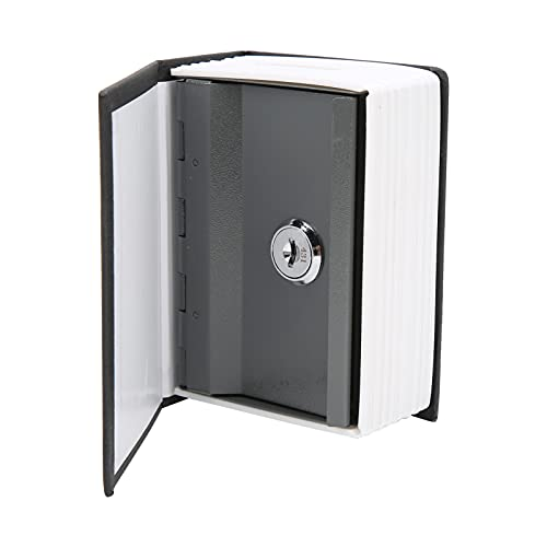 Caja fuerte para libros con cerradura de llave, diccionario, libro de desvío, caja de seguridad, libro secreto, caja fuerte oculta, caja fuerte para libros falsos, para joyería en efectivo, 4.5 x 3.1