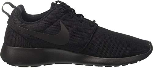 Nike Damen W Roshe One Laufschuhe, Black (Black (schwarz / schwarz-dunkelgrau)), 36 EU