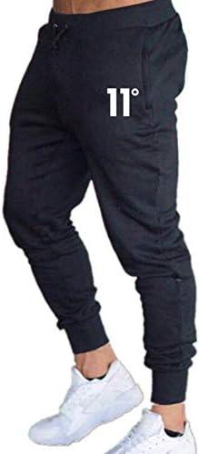 CHRONSTYLE Pantalones Deportivos para Hombre Pantalones de Correr para Hombre Jogger con Cremallera Bolsillos Pantalones Deportivos con Cord/ón Entrenamiento Ciclismo Gimnasio
