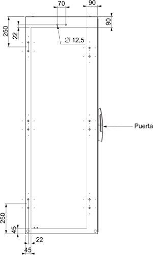Schneider Electric NSYSMBK Kit de Unión Estándar Spacial SM IP55 - para Unir Armarios por el Lateral
