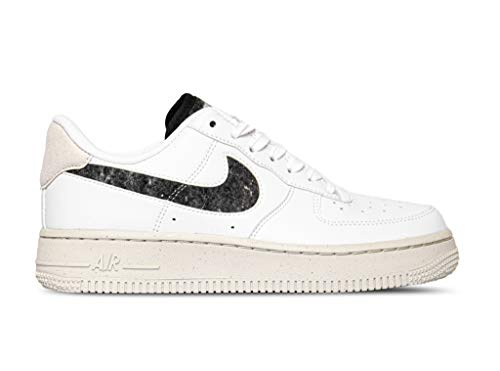 Nike Wmns Air Force 1 '07 SE, Zapatillas de bsquetbol Mujer, White White Lt Bone Black White White, 36.5 EU