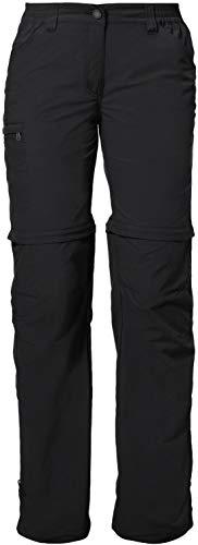 VAUDE Damen Hose Women's Farley ZO Pants IV, black, 36, 038730100360