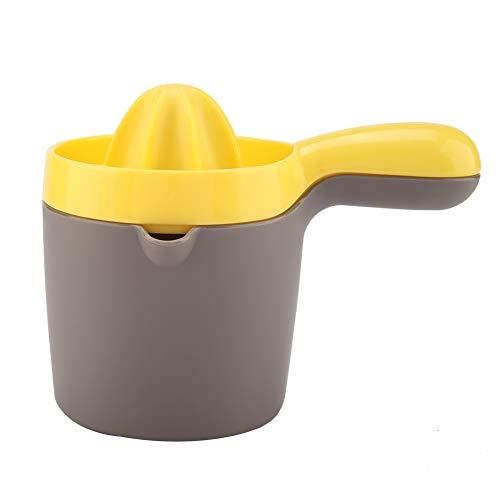 Niunion Exprimidor de limón, exprimidor Manual Exprimidor Manual práctico Exprimidor Manual de limón y Lima Escariador de rotación de Tapa para Cocina