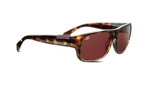 SERENGETI Monte Gafas de Sol, Color Cristal Polarized Drivers, Lente Categoría 3, Color Marrón