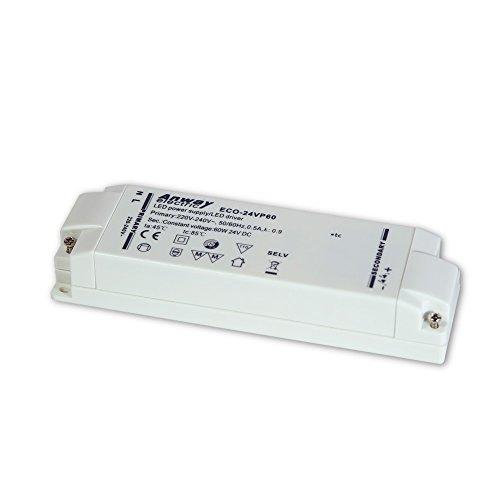 ANWAY LED Treiber ECO-24VP60 60W/CV/24V