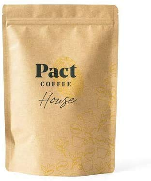 Pact Coffee Coarse Ground Filter Coffee - House Blend Dark Roast (500g) – Ethically Sourced Award Winning Coffee Beans
