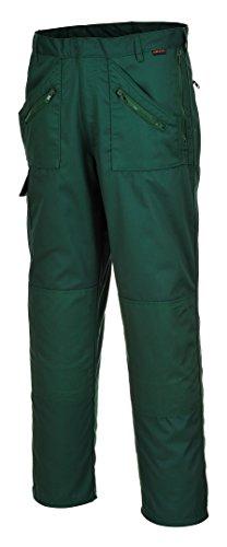 Portwest S887BGR28 Action Trouser, Regelmatig, Grootte: 28, Fles Groen