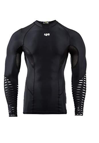 LB9 - Unterhemd Kompression Rashguard Langarm, elastisch und schützend, für Männer und Frauen