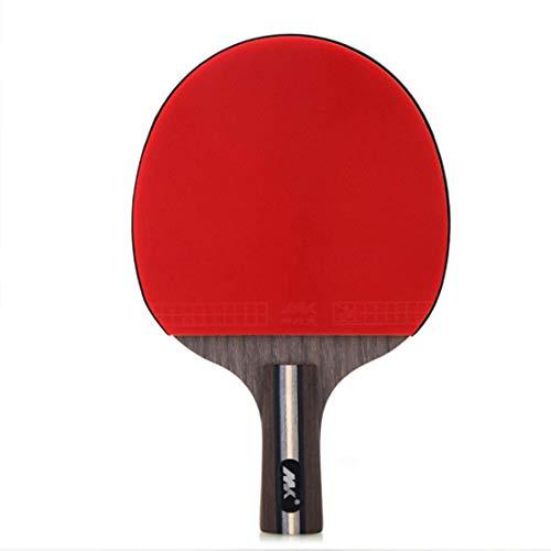 SHJMANPP Sportowe piłeczki do tenisa stołowego nietoperze pingpong wiosło lepsze dla kontroli i wirowania solidność idealne do aktywności rodzinnej klubu szkolnego dla początkujących na zewnątrz, krótkie