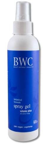 Beauty Without Cruelty Spray Gel Volume Plus 8.5 Ounce Liquid