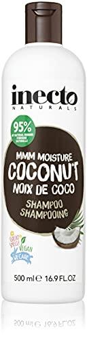INECTO NATURALS - Champú de Coco hidratante con aceite puro de coco orgánico