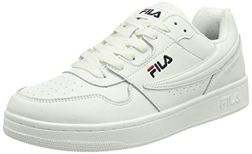 FILA Arcade men zapatilla Hombre, blanco (White/Fila Navy), 43 EU