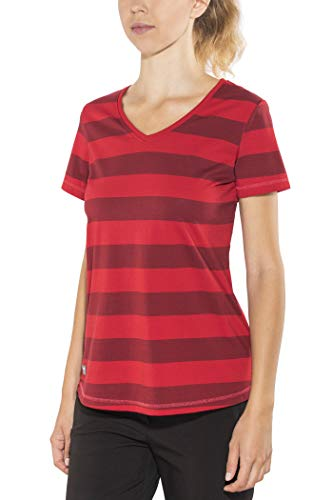 Bergans Bastøy - T-Shirt Manches Courtes Femme - Rouge Modèle XS 2019 Tshirt Manches Courtes