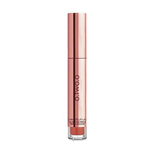 SHE.White Metall Lippenstift Lipgloss Glitzer Schimmer Lip Gloss Liquid Lip Liner Make up Lipgloss-Glanz und Lipbalm-Feuchtigkeit in Einem – Kräftige Farbe, geschmeidig und glänzend