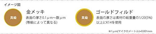 『【USA製】14KGFパーツ ゴールドフィルド 9ピン 0.5×38.1mm 1本』のトップ画像