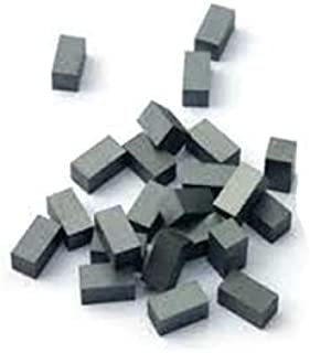 Vridhi Enterprises Ferrite Block Magnet (Black, 25 x 11 x 6 mm Thick) 20 Pieces