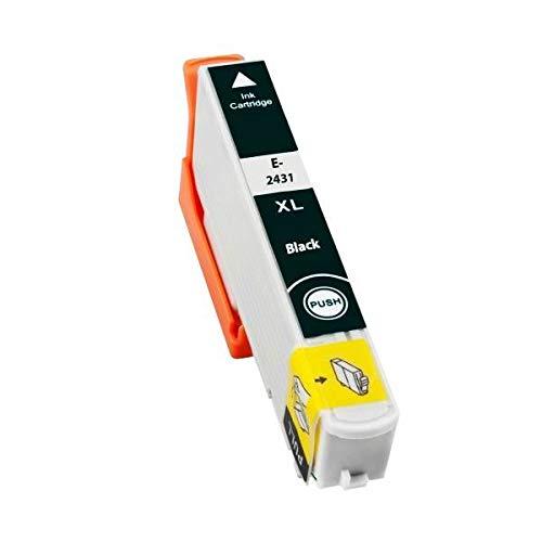 T2431 Cartuccia compatibile Nera per Epson 24XL XP 55 750 760 850 860 950 960