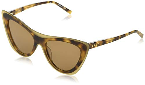DONNA KARAN EYEWAR DK516S Gafas de sol, Amber Tortoise, 54 MM, 17 MM, 135 MM para Mujer