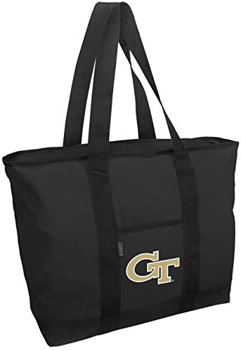Broad Bay Georgia Tech Tote Bag Best GT Yellow Jackets Totes Shopping Travel or Everyday