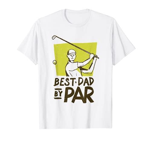 Meilleur papa par par - Golfeur de balles de golf T-Shirt