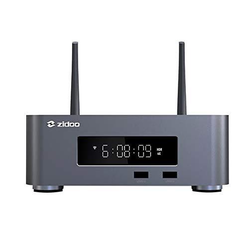 Zidoo Z10 Pro Gris Oscuro - Reproductor Multimedia 4K UHD