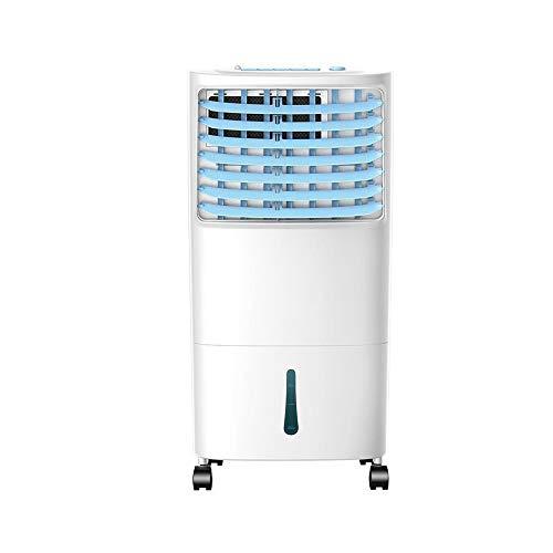 XIAOLIN 65W verdampingsluchtkoeler met afstandsbediening, 3 snelheden 7,5 uur timer en 10L watertank voor thuis of op kantoor