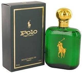 Polo by Ralph Lauren for Men, Eau de Toilette Natural Spray, 4-Fluid Ounce