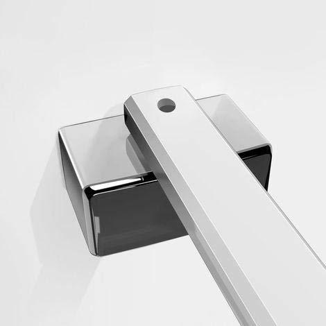 45 cm aleación de zinc sin marco puerta fijo mampara de ducha ...