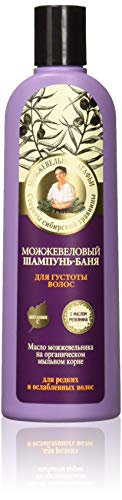 Grandma Agafia's Recipes Juniper Shampoo Prevents Hair Loss 280ml