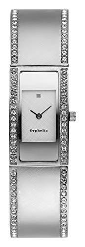 Orphelia Damen-Armbanduhr Gondola Analog Quarz Edelstahl
