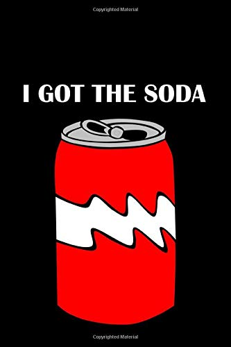 I Got The Soda: Funny TikTok Quote BLANK COMPOSITION NOTEBOOK Music TikTok Vine App Memes Journal Diary 6x9 in. 100 Sheets/200 Pages